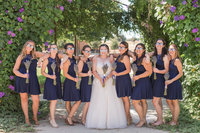 elegant winery wedding at hanford ranch winery by adrienne and dani photography