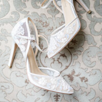 Bella Belle Wedding Shoes Detail Wedding Photos