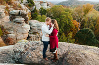 Garden-of-the-gods-engagement-session-southern-IL-Autumn-Fall-Illinois-Vandalia-Edwardsville-Portrait-Photographer-Sarah Neeley Photography-16