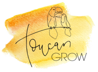Toucan Grow Logo - NO Background