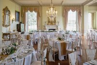 Prestwold Hall rustic wedding decorations