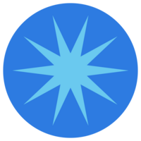 LightBlueStar_BlueCircle_Button