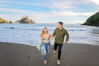 -Humboldt-County-Engagement-Photographer-Redway-Photographer-Parky's Pics-Trinidad-State-Beach-Sunset-engagement-1