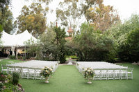 Ceremony location at Twin Oaks Wedding Venue San Diego