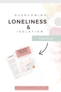 Loneliness & Isolation Freebie