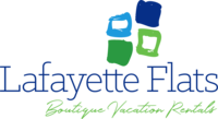 Lafayette Flats Boutique Vacation Rentals Logo