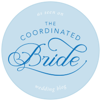 The Coordinated Bride Badge