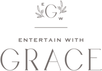 Entertain with Grace - Custom Brand and Showit Web Design by With Grace and Gold - 2