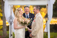 wedding ceremony at pawleys plantation