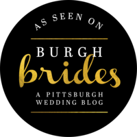 As Featured on Burgh Brides Badge