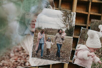 Jenn Marie Photography Family Session Deckled Edge Prints