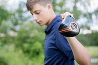 Laura Luft High School Senior Photography Elba NY  Central  School Boy Guy Golf Basketball Session-03