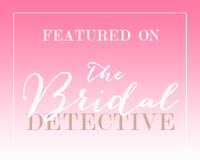 FEATURED on The Bridal Detective - large size