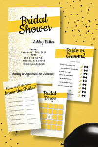Ashley Butler Bridal Shower Mockup