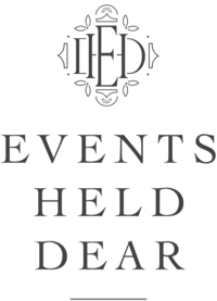 Events Held Dear - Custom Brand and Showit Web Design for Event Planner - With Grace and Gold - 3