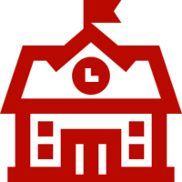 Red school icon