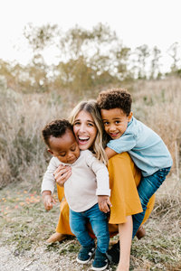 Family Portraits in Birmingham Alabama Maddie Moore Photography
