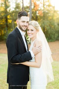 Blonde-bride-fall-wedding