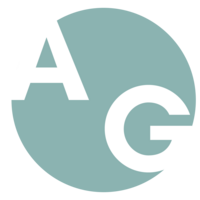 Alex Good Logo With White Font