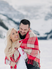 lake louise couples portrait photography