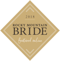 badge rocky mountain bride