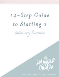 12 step stationery guide