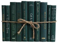 Copy of Green books tied