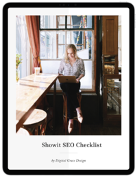Showit SEO Checklist Freebie Download