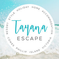 Tayana Escape holiday house logo design  by The Brand Advisory, Hallam