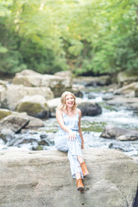 senior grad photographer ohiopyle pa