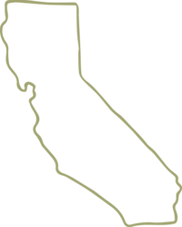 outline of california