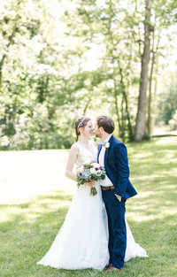 Sage Green and Purple Historic Wedding-111