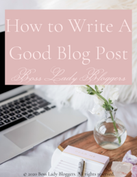 How to Write A Good Blog Post EBook (2)