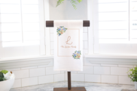 The Lawson Family_Initial Tea Towel Stand Mockup