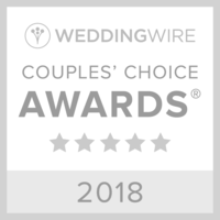 Wedding Wire Couples Choice Award 2018 Light Grey