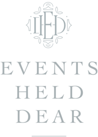 Events Held Dear - Custom Brand and Showit Web Design for Event Planner - With Grace and Gold - 4
