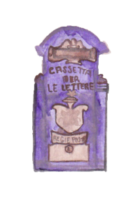 Purple-Spanish-Letterbox-watercolor