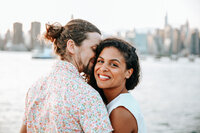 New York City Couple in their jklphoto Engagement photoshoot