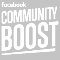 Facebook Community Boost Logo