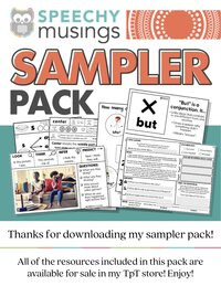Speechy Musings Sampler Pack 1