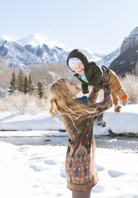 Telluride family portrait photographer | Lisa Marie Wright Photography