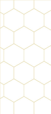 Honeycomb Pattern 350x775