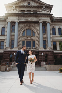 Brown County Courthouse Wedding
