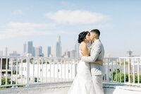Downtown Los Angeles Rooftop Wedding Not Jess A Planner