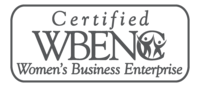 Certified Women Business Entrerprise Logo