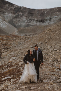 hiking elopement portfolio and photography packages