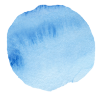 Watercolor Swash Circle