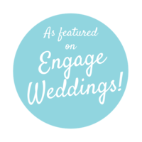 As featured on Engage Weddings