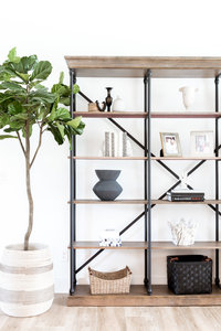 Pedersen Living Room Bookcase