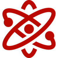 red STEM icon